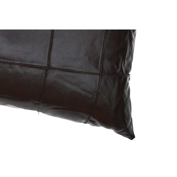 Poduszka ze skóry wegańskiej Power 08, 30x60 cm