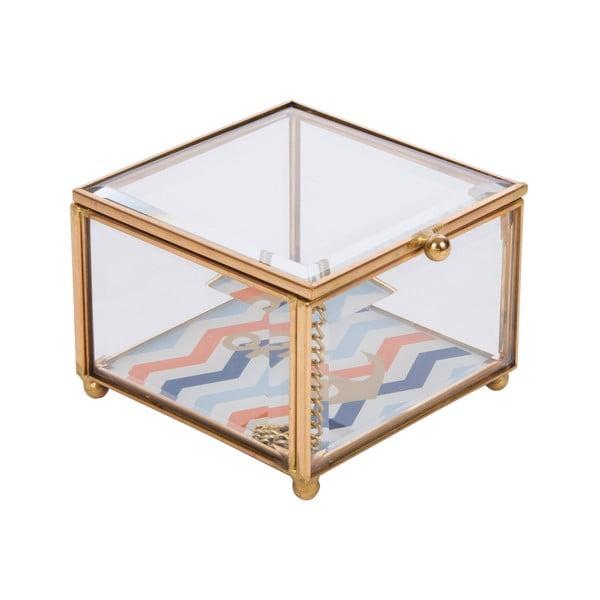 Szklana szkatułka na biżuterię Portagioie