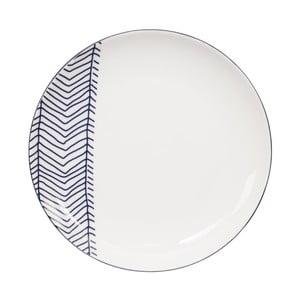 Talerz porcelanowy Tokyo Design Studio Le Bleu De Plates, ⌀ 20,5 cm