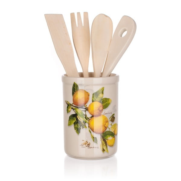 Zestaw przyborów kuchennych Banquet Lemon, 5 sztuk