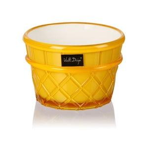 Pucharek deserowy Livio, 266 ml, żółty