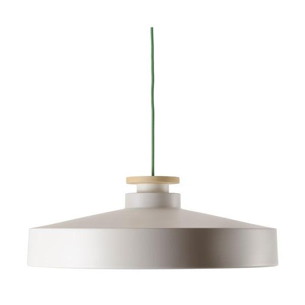 Żyrandol Street L, biały z zielonym kablem