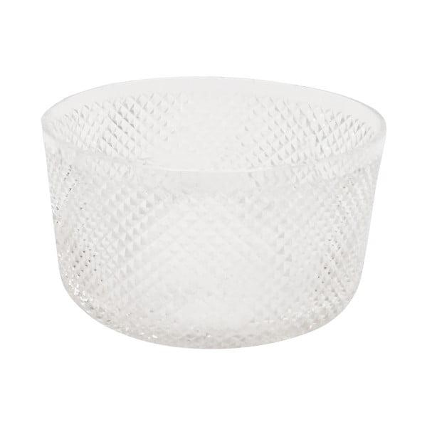 Szklany pojemnik Diamond, 23 cm