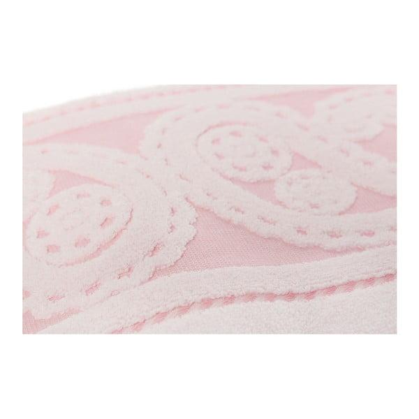 Zestaw 2 różowych ręczników Hurrem, 50x90 cm