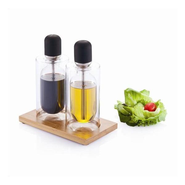 Zestaw na olej i ocet z pipetami