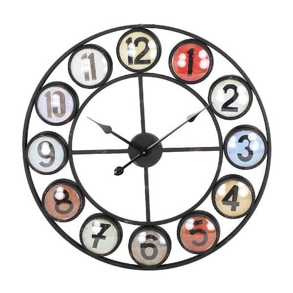 Zegar naścienny Iron Red, 68 cm