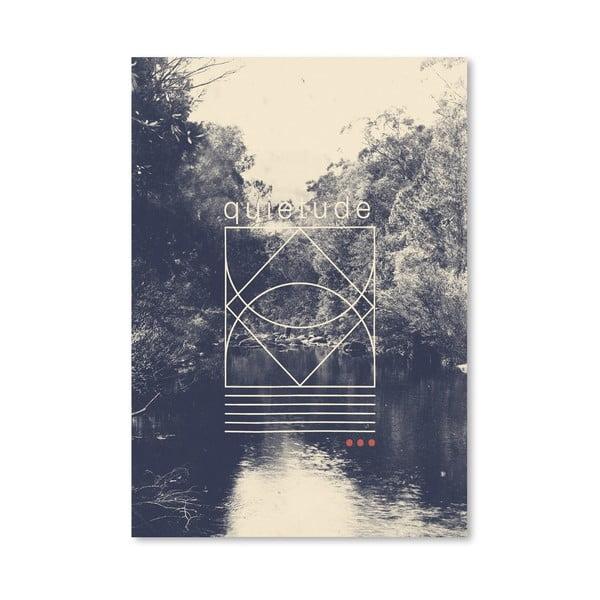 Plakat Quietude, 30x42 cm
