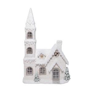 Biały domek ceramiczny Ewax Enchanted House, wys.73cm