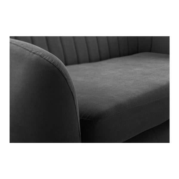Sofa trzyosobowa Comete Stripes Anthracite