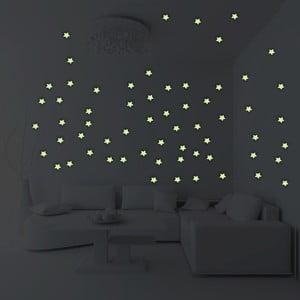 Zestaw 100 świecących gwiazdek Fanastick Stars
