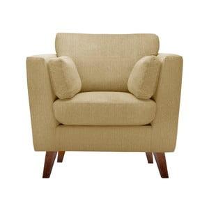 Żółty fotel Jalouse Maison Elisa