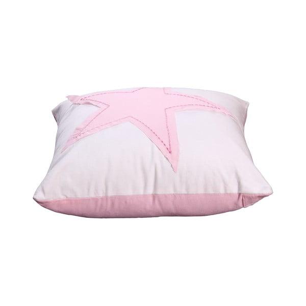 Poszewka na poduszkę Estrella 40x40 cm, różowa