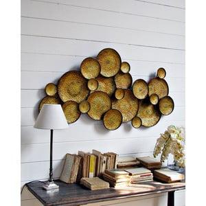 Dekoracja naścienna Golden Circle, 120 cm