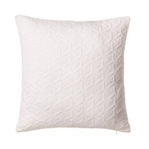 Biała poduszka Unimasa Axis, 45x45 cm