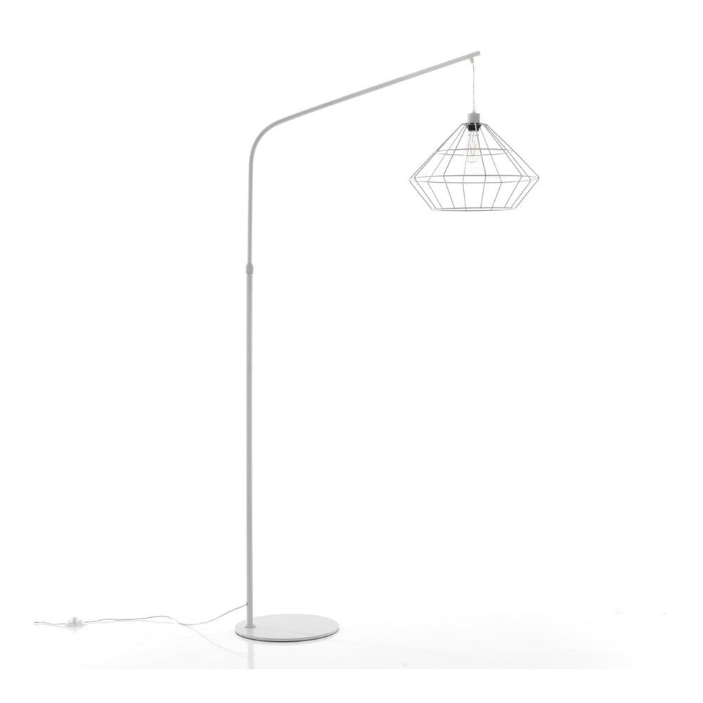 Lampa stojąca w srebrnej barwie Tomasucci Diamond