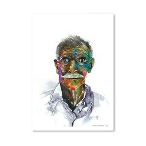 Plakat Rainbow Man, 30x42 cm
