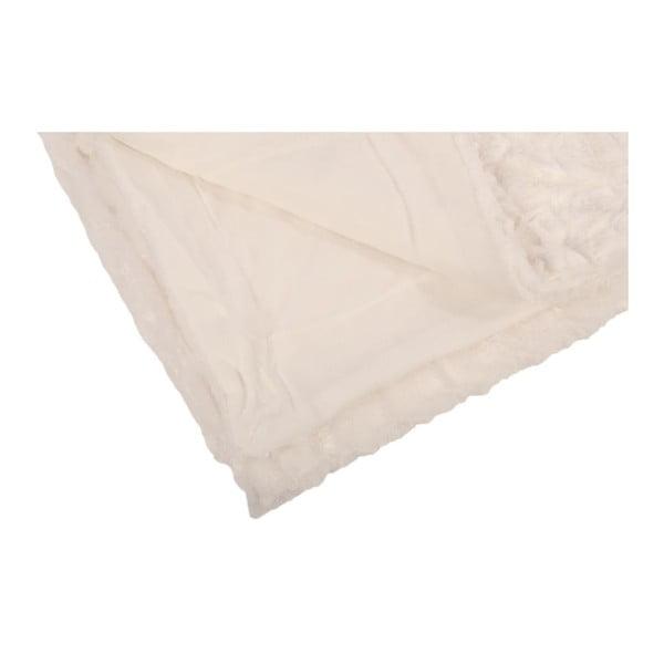 Pled Mink Fur Blanc, 130x150 cm