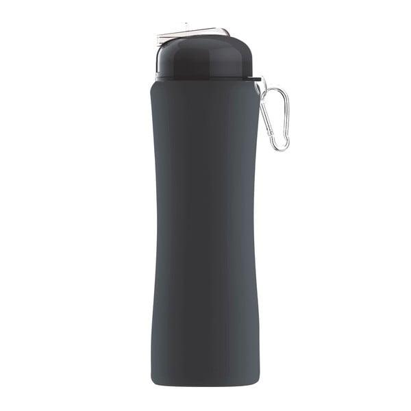Rewolucyjna butelka Sili-Squeeze, czarna, 650 ml