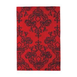 Czerwony dywan Asiatic Carpets Harlequin Oldschool, 150x90 cm