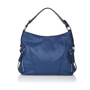 Niebieska torebka skórzana Giorgio Costa Sissala