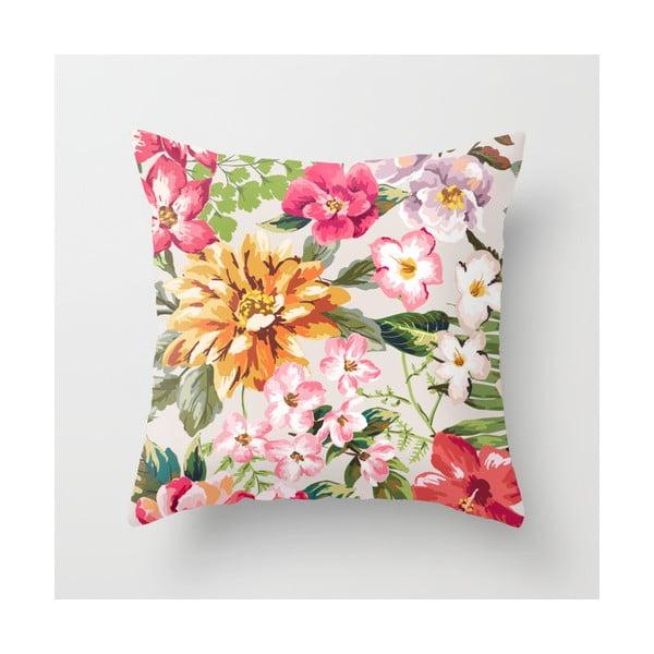 Poszewka na poduszkę Floral I, 45x45 cm