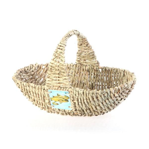Wiklinowy koszyk Wicker Basket, 37 cm