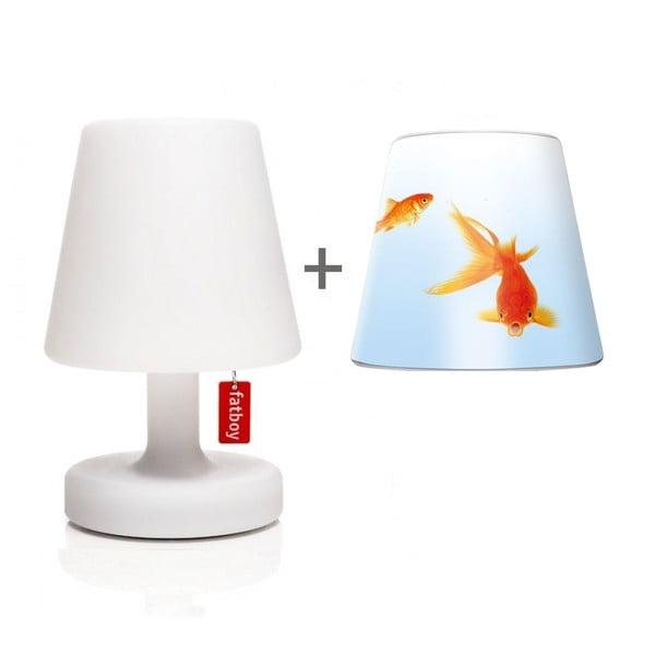 Lampa Fatboy Edison Petit, 25 cm + klosz Willem Gold