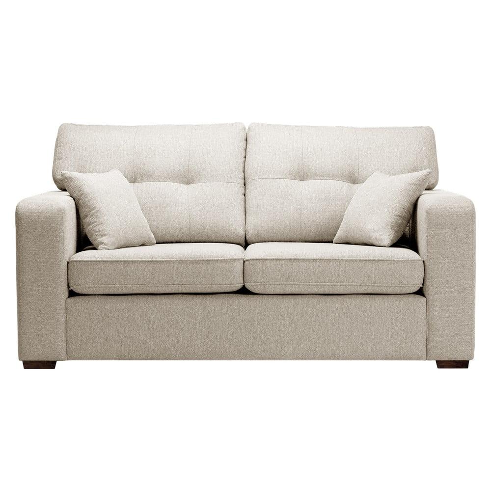 Beżowa rozkładana sofa Prêt à Meubler Classics Melvin