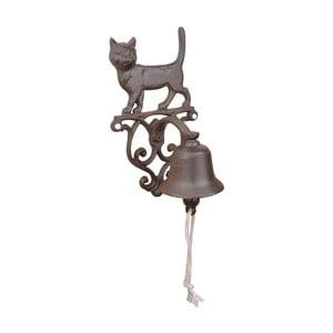 Żeliwny dzwonek w kształcie kota EsschertDesign
