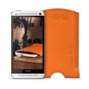Skórzane etui na HTC One M7 Cognac