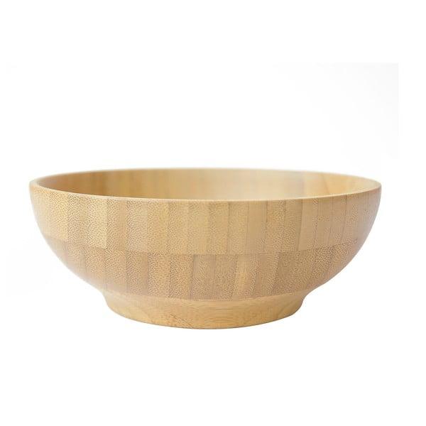 Bambusowa miska na zupę Bambum Caso, ⌀ 15 x 6 cm