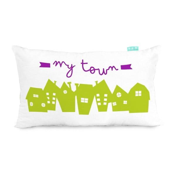 Poszewka na poduszkę Little W My Town, 50x30 cm