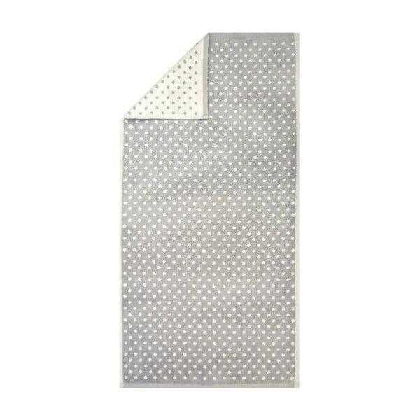 Ręcznik Nostalgie Grey Dots, 50x100 cm