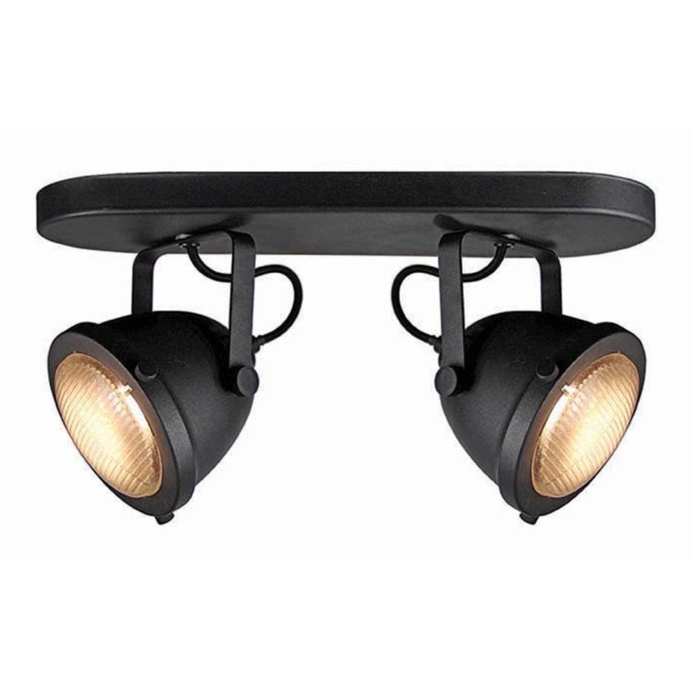 Czarna lampa sufitowa LABEL51 Spot Moto Dos