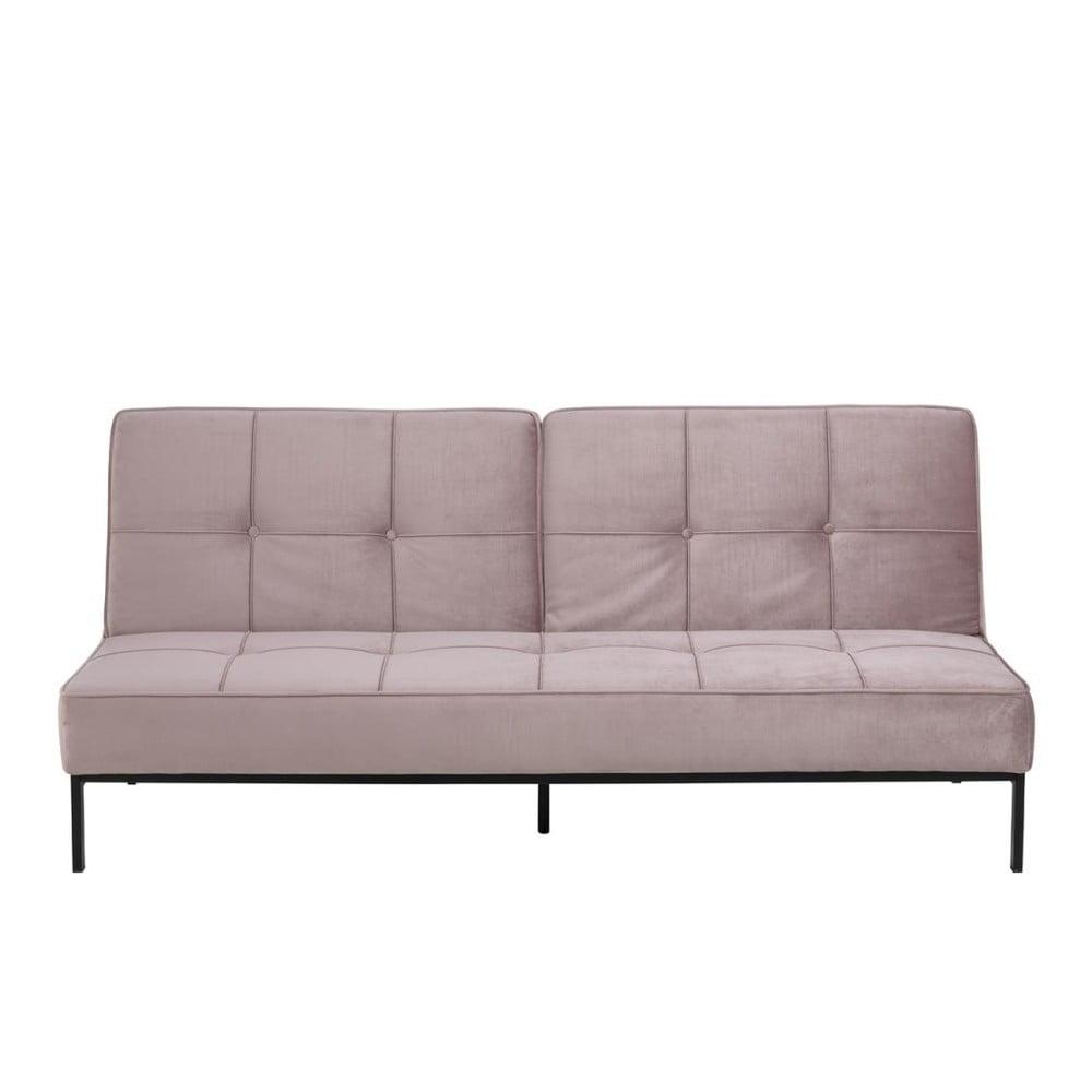 Różowa rozkładana sofa Actona Perugia