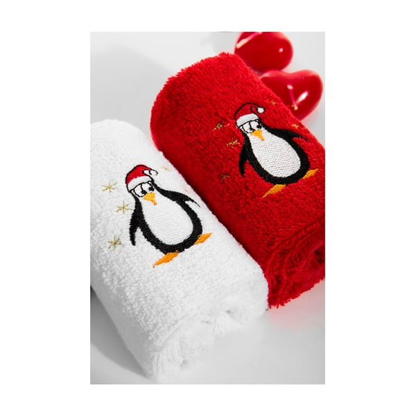 Zestaw 2 ręczników Penguen, 30x50 cm