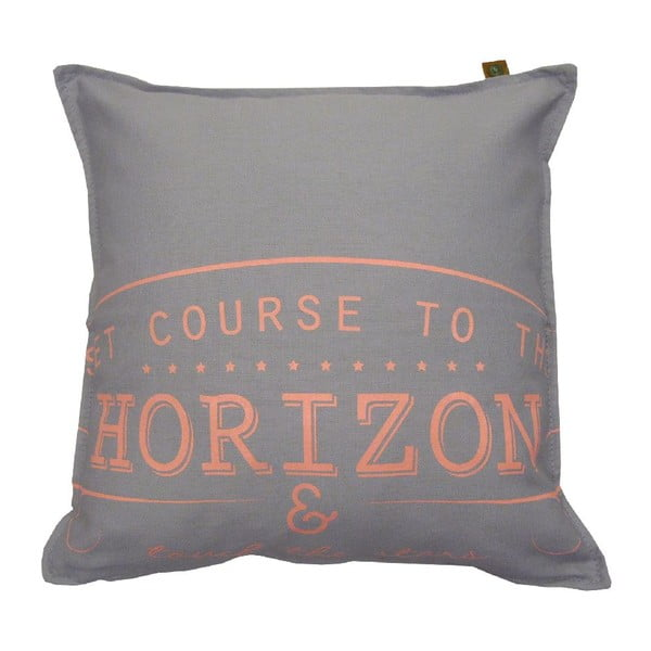 Jasnoszara poduszka Overseas Horizon, 45x45 cm