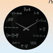 Zegar ścienny Maths