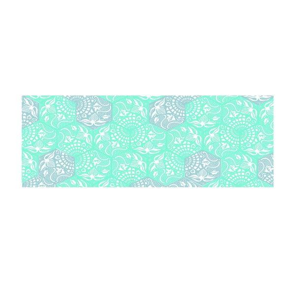 Winylowy dywan Cocina Paseo Turquesa, 50x140 cm