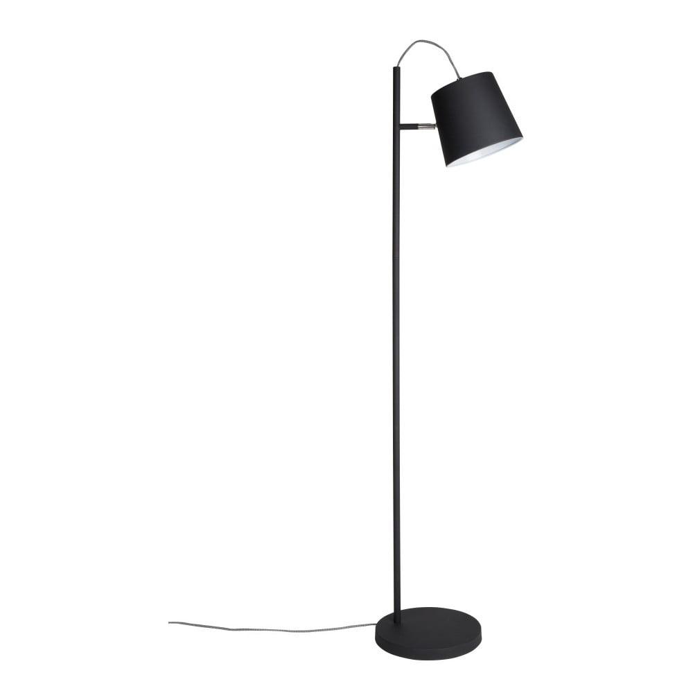 Czarna lampa stojąca Zuiver Buckle Head