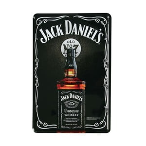 Tablica Jack Daniels, 20x30 cm