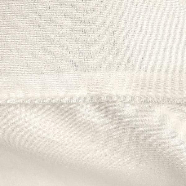 Kremowa jednoosobowa pościel z mikroperkalu Sleeptime Monte Carlo, 140x200 cm