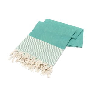 Ręcznik hammam Stripped Elmas Mint, 100x180 cm