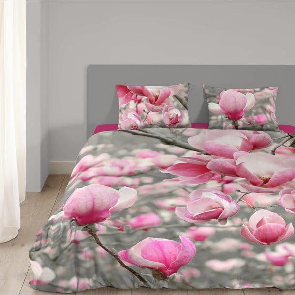 Pościel bawełniana Muller Textiel Magnolia, 135x200 cm