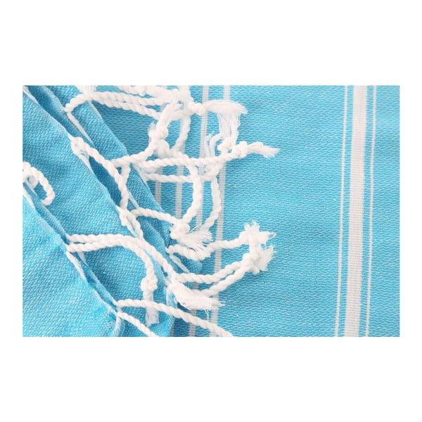 Ręcznik hammam Sultan Turquoise, 100x180 cm