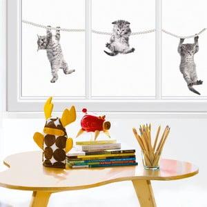 Naklejka na okno Kocięta