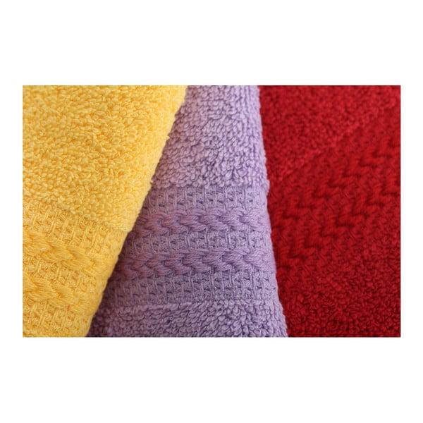 Zestaw 10 ręczników Rainbow, 30x50 cm