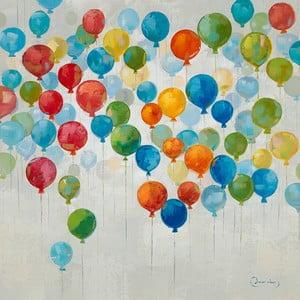 Obraz z motywem baloników Dino Bianchi, wysokość80cm