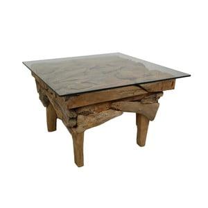 Stolik z drewna tekowego HSM Collection Cee