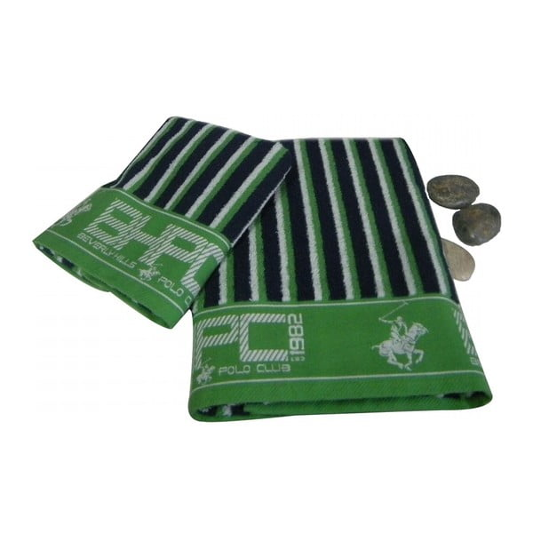 Zestaw 2 ręczników BHPC Green, 50x100 cm